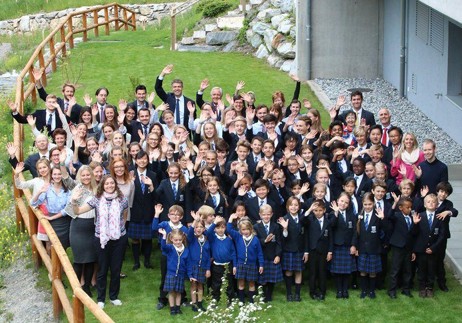 Le Régent Crans-Montana – школа в окружении швейцарских Альп. Фото - 3