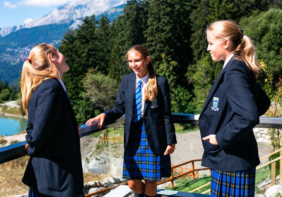 Le Régent Crans-Montana – школа в окружении швейцарских Альп. Фото - 4