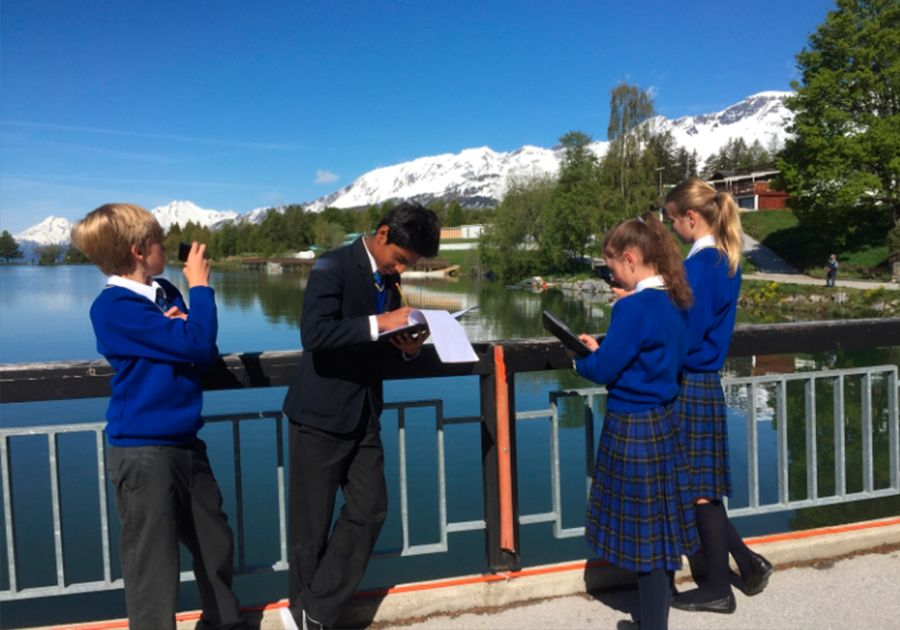 Le Régent Crans-Montana – школа в окружении швейцарских Альп. Фото - 6