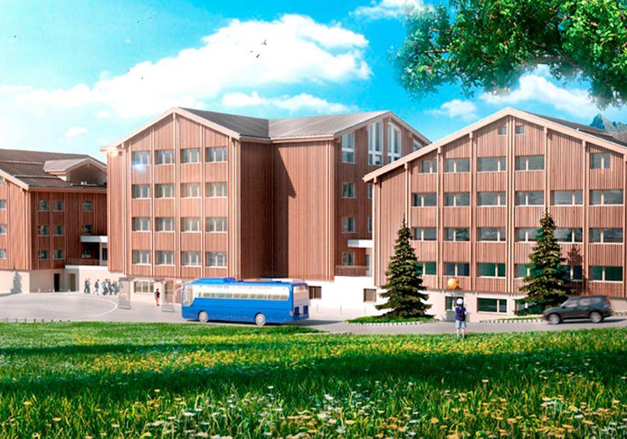 Le Régent Crans-Montana – школа в окружении швейцарских Альп. Фото - 5