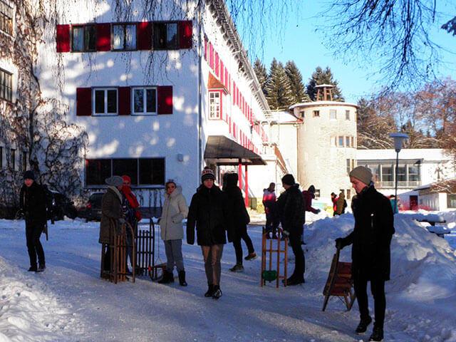Humboldt-Institut: Lindenberg. Фото - 26