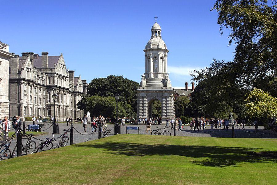 Trinity College Dublin. Фото - 12