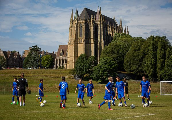 Nike Football Camp @ Lancing College . Фото - 16
