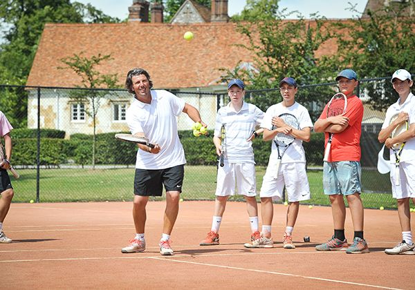 Nike Tennis Camp @ Bisham Abbey. Фото - 6
