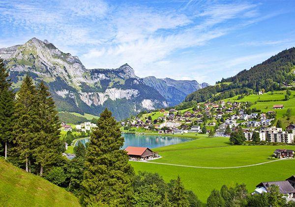 Лагерь в Швейцарских Альпах. Фото - 6