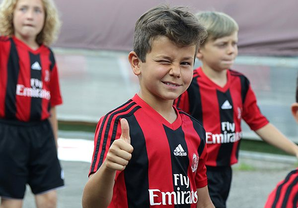 Milan football club camp. Фото - 3